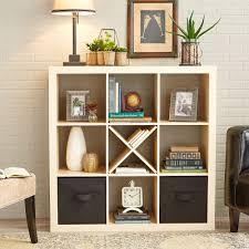 ... Storage Ideas, Enchanting Storage Cube Furniture 4 Cube Storage Unit  Fancy Cream Storage Unit: ...