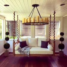 Bedroom:Prepossessing Steel Hooks Chain Hang Swing Bed Lowcountryswingbeds  Swinging For Porch Ilfullxfull Outdoor Diy