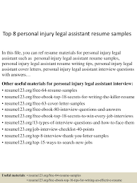 Best Legal Assistant Resume Example Livecareer Administrative