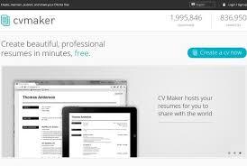 Resume Maker Online Simple Free Online Resume Maker Tools SmashingApps