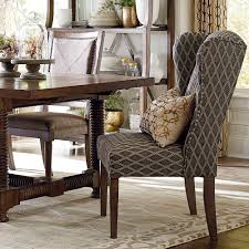 high end dining furniture. Furniture: Dining Room End Chairs Incredible Tufted Wingback Chair Arm High 19 For 13 From Furniture I