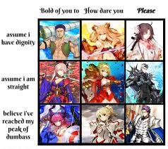 Saber Chart New Saber Alignment Chart Grandorder