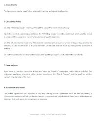 Event Coordinator Templates Wedding Coordinator Contracts Event Planner Contract Template Free