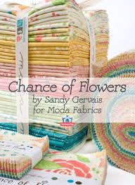 Moda Fabric Designers Chance Of Flowers By Sandy Gervais For Moda Fabrics Fabric