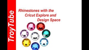 Cricut Design Space Rhinestone Template Rhinestones With The Cricut Explore