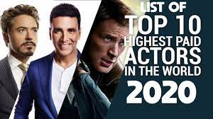 highest paid actors in the world 2020