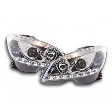 Ya disponible Daylight headlight <b>Mercedes C</b>-<b>class W204</b> Yr. <b>07</b>-10 ...