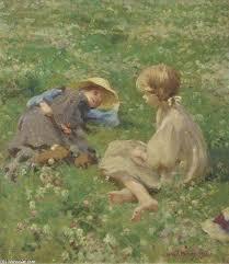 Fields Of Flowers - Harold Harvey | Wikioo.org - The Encyclopedia of Fine  Arts