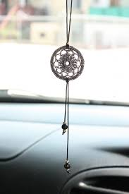 Dream Catcher For Car Mirror Interesting Outstanding Car Mirror Decorations Aqua Flower Dreamcatcher Car