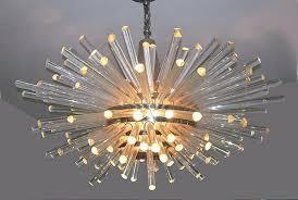 installing 1960s chandelier