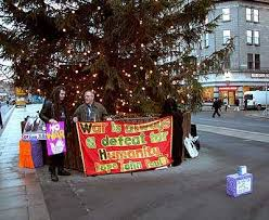 Christmas Presents from Bertie, Blair & Bush Delivered by the Pit Stop  Ploughshares - Indymedia Ireland