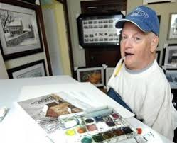 Quadriplegic painter known for his art and his heart   Archive ...