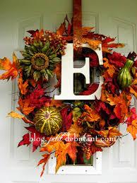 Modern Fall Wreath | Fall Ribbon Wreath | Autumn Wreaths