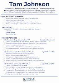 Retail Customer Service Resume Sample Retail Sales Resume Examples Elegant 60 Fresh Retail Resume Sample 22