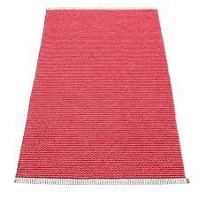 pink runner rug red mono blush dark uk