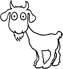 Small Picture Goat coloring page Animals Town animals color sheet Goat