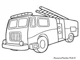 Small Picture Fire Truck Coloring Pages For Toddlers Coloring Coloring Pages