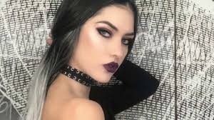 edgy makeup tutorial heat palette vy look by katerina dimitriou