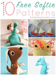 Free Stuffed Animal Patterns Impressive 48 Free Softie Sewing Patterns Dollar Store Crafts