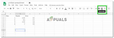 Google Charts Standard Deviation How To Add Error Bars In Google Sheets Appuals Com