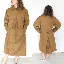 brown duster coat image 0 brown leather duster jacket brown suede duster coat