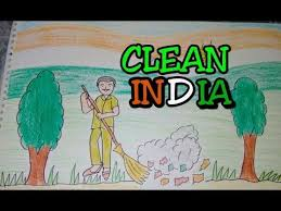 drawing tutorial drawing on swachh bharat clean india drawing creative ideas you