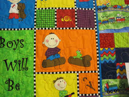 Pieceful Afternoon: Quilt show - part 2 & Don't you just love little boy quilts? Adamdwight.com