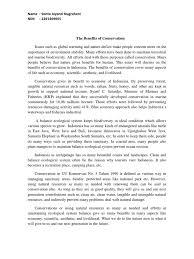 essay konservasi conservation biology