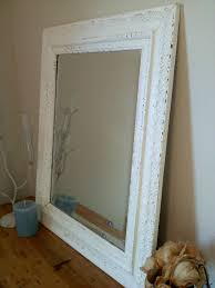 white antique picture frames. White Antique Frame Made Into Framed Mirror By Studioonseventeen Large Picture Frames O