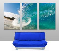 home triptych 3 piece wall art rolling waves triptych previous  on wall art prints australia with rolling waves triptych wall art australia
