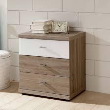 Image of: 3 Drawers Bedside Chest