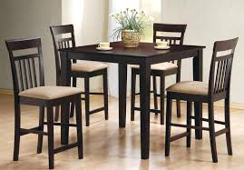 5 piece counter height dining set cappuccino 5 piece counter height dining room set virginia 5