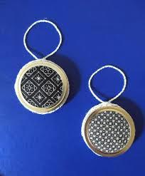 Free Blackwork Embroidery Charts Diy Embroidered Mason Jar Lid Ornaments Free Blackwork