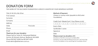 Donation Form Goodwill Donation Checklist Tax Donation Form Template