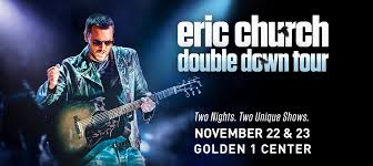 Eric Church Extends Double Down Tour With Visit To Golden 1