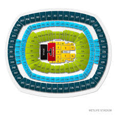 Metlife Taylor Swift Seating Chart Kenny Chesney With Florida Georgia Line And Old Dominion New