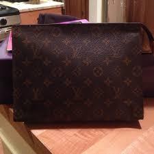 louis vuitton clutch bag. authentic louis vuitton cosmetic bag/clutch clutch bag