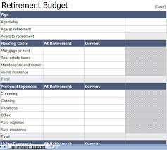 Excel Retirement Calculator Spreadsheet Excel Retirement Budget Template Retirement Calculator Spreadsheet