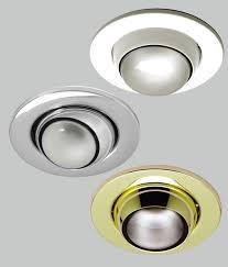 Fisheye Recessed Light Eyeball Downlight For R80 Mains Reflector Lamps Adjustable