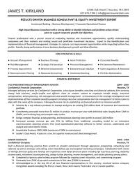 Management Consultant Resume Sample Management Consultant Resume Enderrealtyparkco 10