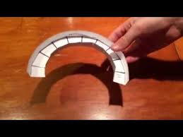 How To Make A Wide Curve For A Paper Roller Coaster Youtube