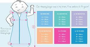 Aden And Anais Sleep Sack Size Chart Baby Sleeping Bag Size Guide Baby Sleeping Sign Kids