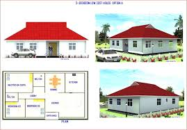 3 bedroom low cost house plans fresh floor plan simple house plans in kenya amaze sensational