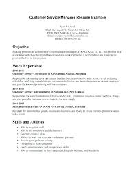 Resume For Customer Service Representative Best Sample Resume For Customer Service Representative In Retail Sales