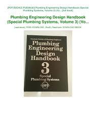 Engineering Design Handbook Pdf Pdf Free Plumbing Engineering Design Handbook Special