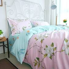 delicate rural shabby bed country style vintage fl duvet cherry blossom sheets bedding twin comforter fox