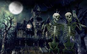 Halloween Skeleton Wallpapers - Top ...