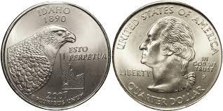 Idaho State Quarter Design 2007 D Idaho State Quarter Value Coin Helpu