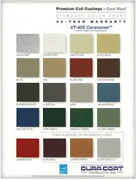 Metal Siding Color Chart Color Charts