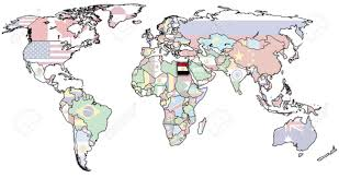 old political map of world with flag of egypt stock photo, picture Map Of The World Egypt old political map of world with flag of egypt stock photo 6791735 map of the world with egypt located